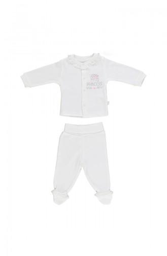 Bebetto Ensemble Pyjama F970-GMS-01 Argent 970-GMS-01