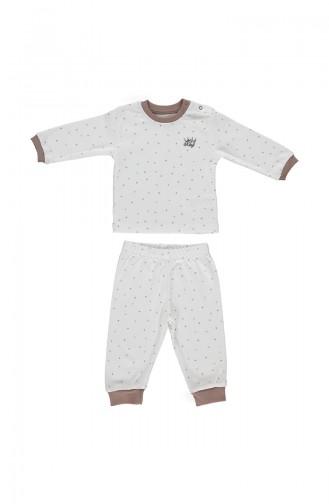 Bebetto Ensemble Pyjama F920-KHV-01 Brun 920-KHV-01