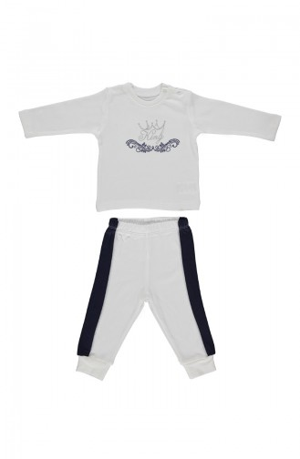 Bebetto Penye Pijama Takımı F943-LACI-01 Lacivert 943-LACI-01