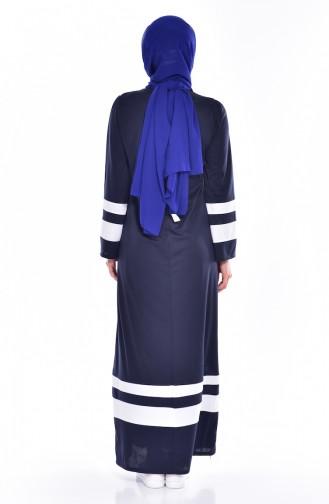 Garnili Dress 3310-05 Navy Blue 3310-05