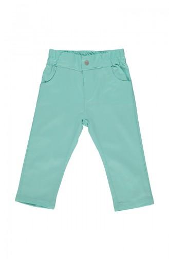 Bebetto Gabardine Girl Pants K1828-MNT-01 Mint Green 1828-MNT-01