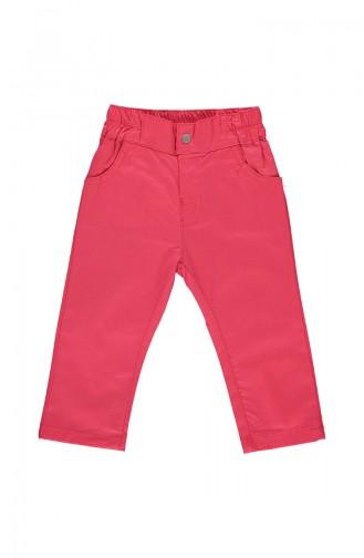 Bebetto Gabardine Girl Pants K1828-NR-01 Vermilion 1828-NR-01