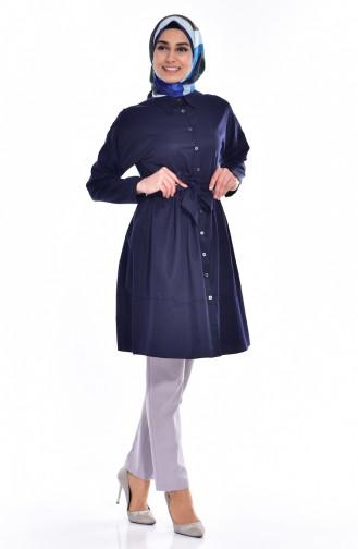 Navy Blue Tunic 2446-07