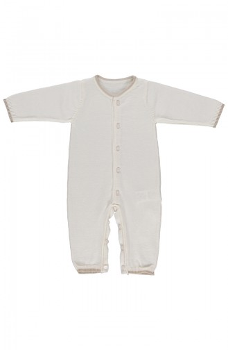 Bebetto Vêtement Tricot TR112-EKR Ecru 112-EKR