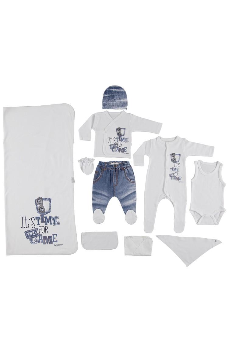 221bbe32a White Newborn Baby Suits 515-BYZ