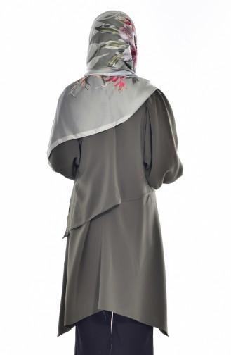Tunika mit Halskette 8129-01 Khaki 8129-01