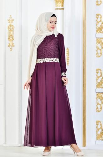 Robe Hijab FY 51983-15 Plum 51983-15