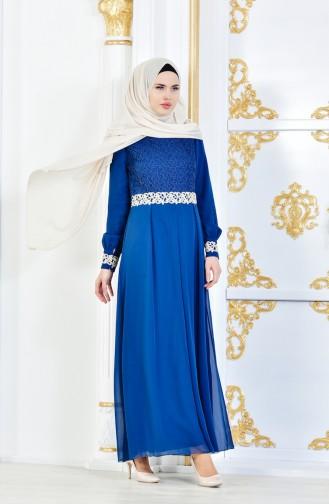 Hijab Kleid FY 51983-19 Petroleum 51983-19