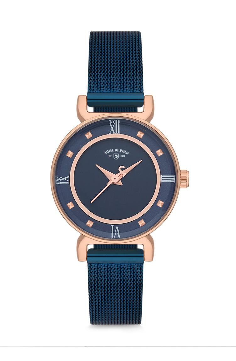 48b210402 Polo de metal para Aqua Apl48b210402 mujer Reloj Di shQtrxdC
