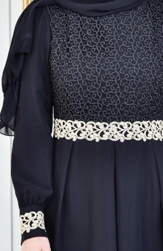 Robe Hijab Noir 51983-07