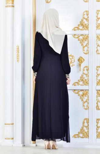 Robe Hijab FY 52221-06 Noir 52221-06