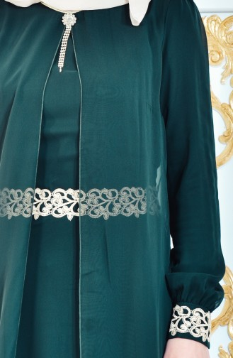 Robe Hijab FY 52221-07 Vert 52221-07