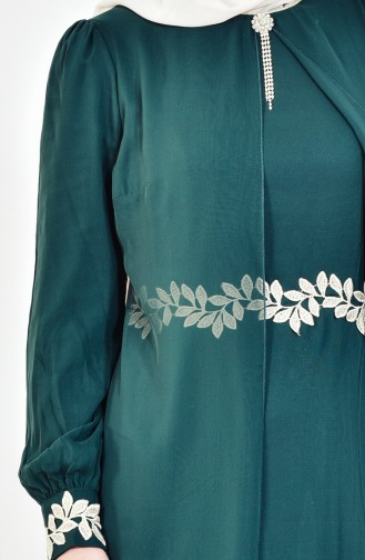 Robe Hijab 52221A-02 Vert 52221A-02