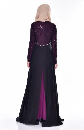 Lila Hijab-Abendkleider 1713169-02