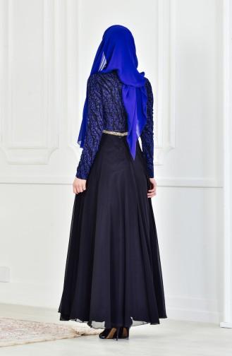 Black İslamitische Avondjurk 1713213-01