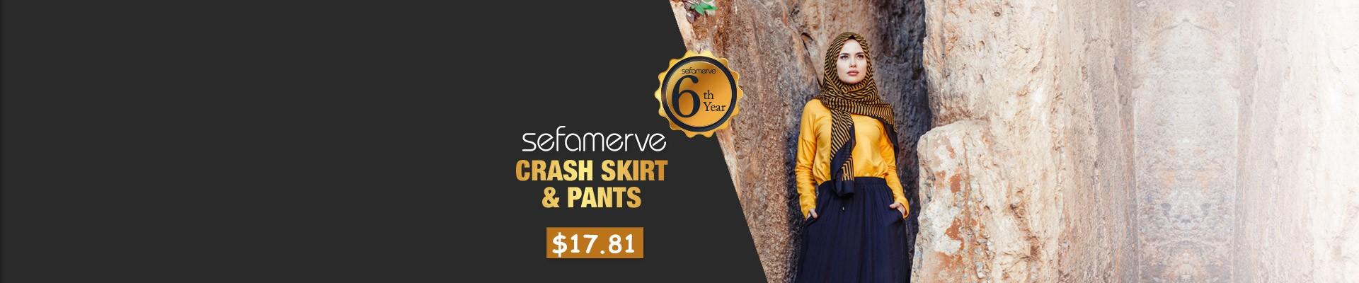 CRASH SKIRT & PANTS