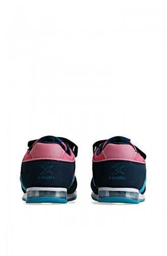Kinetix 7P Femand 100243215 Pétrole Turquoise Rose 100243215