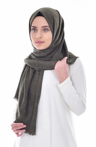 Khaki Shawl 6145P-08
