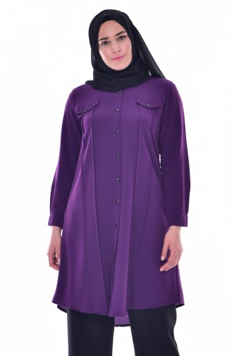 Purple Tunic 1029-04