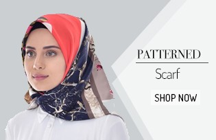 Patterned Scarf 503210