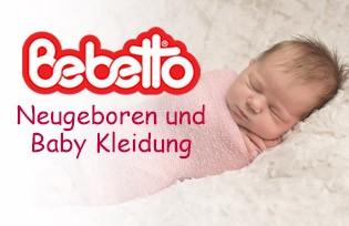 Bebetto Neugeboren und Baby Kleidung