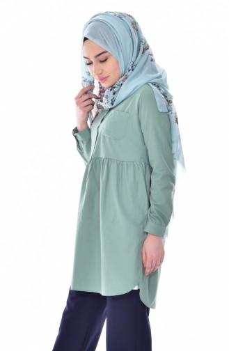 Green Tunic 0708-04