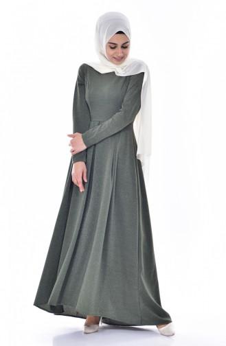 Robe Plissée 1952-05 Khaki 1952-05