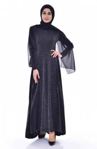 Robe Plissée 1952-01 Noir 1952-01