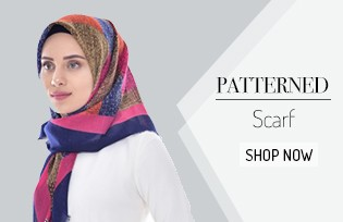 Patterned Scarf 901265