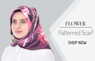 Flower Patterned Scarf 503208