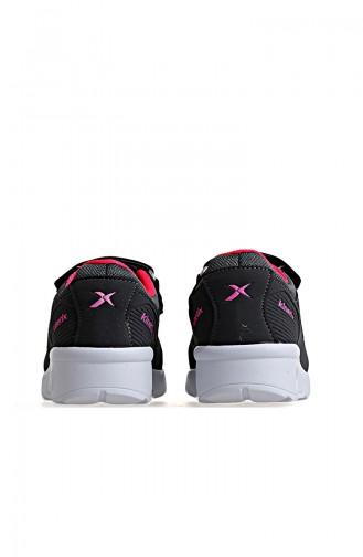 Kinetix Kinderschuhe 8P Bırno 100299575 Grau Neonpink 100299575