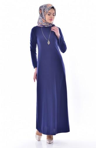 Navy Blue Dress 4452-04