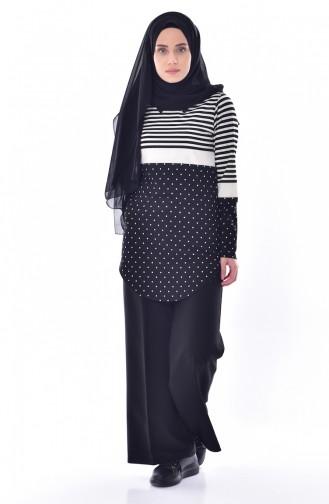 Black Tunic 2367-01