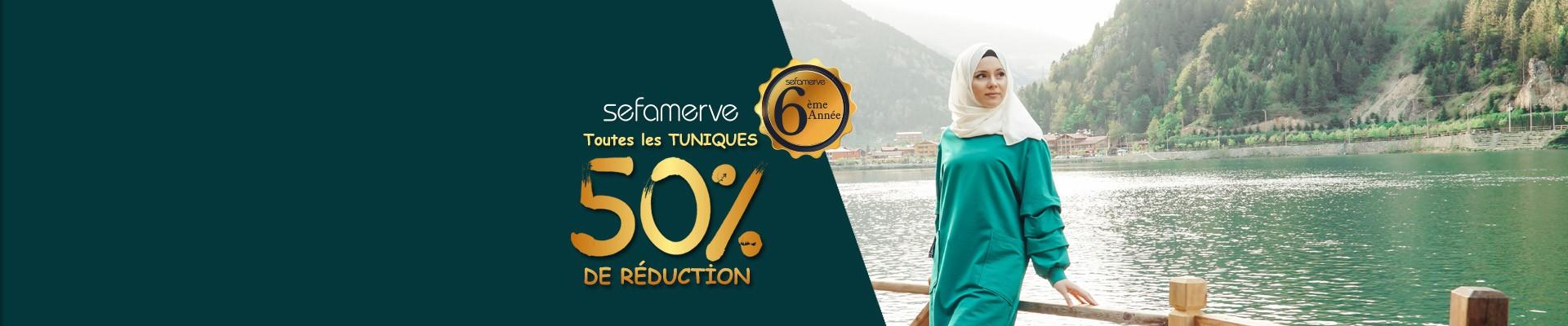 Tous Les Tuniques Sefamerve 50% de Réduction