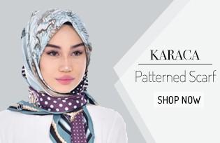 Karaca Desenli Eşarp 90458