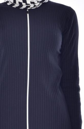 Cardigan Pants Double Suit 3300-04 Black 3300-04