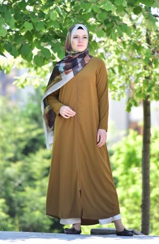 Mustard Abaya 6026-08