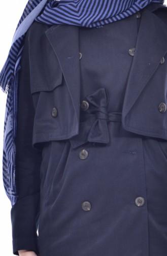 Trench Coat 2002-01 Bleu Marine 2002-01