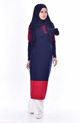 Navy Blue Knitwear 4671-04