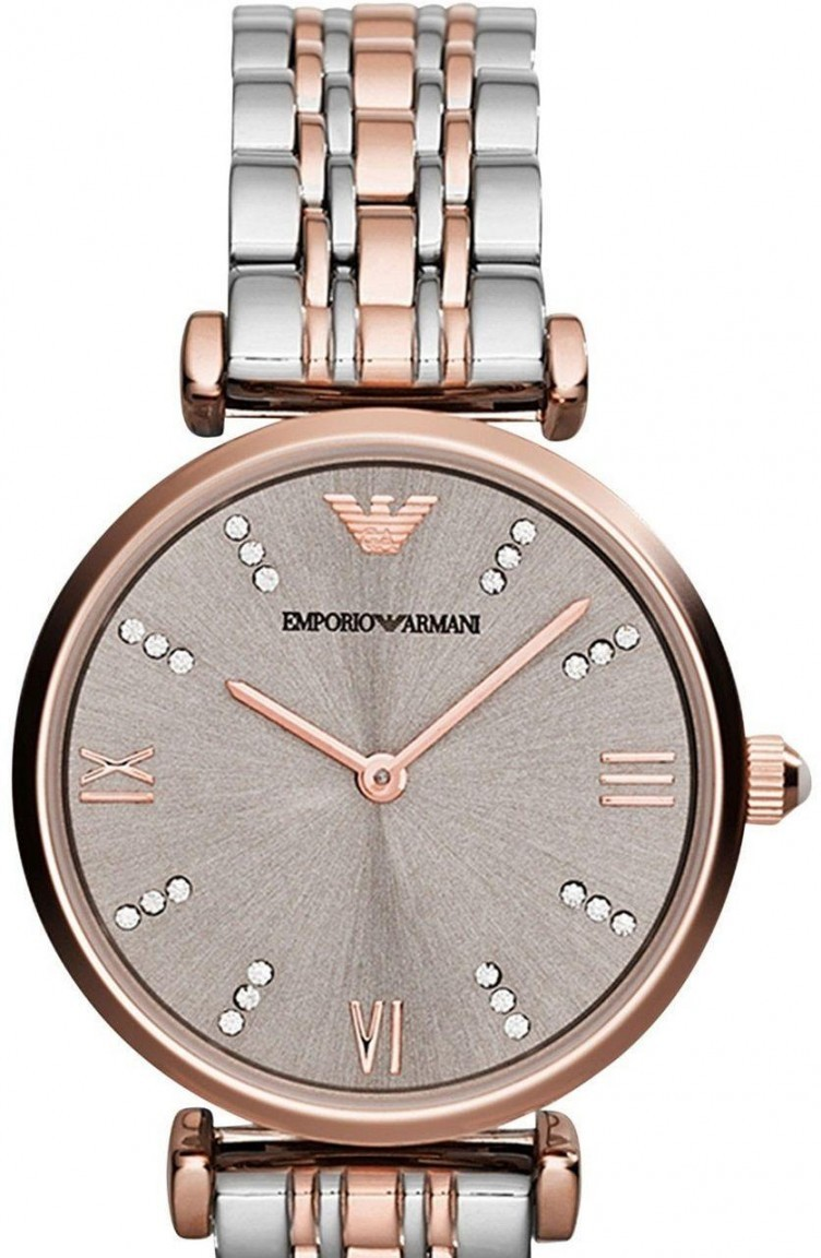 e110d0a6c امبريو ارماني ساعة يد نسائية Ar1840 1840