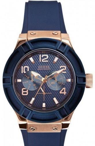 Navy Blue Horloge 0571L1