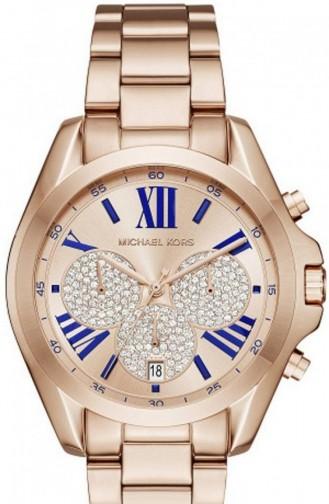 Gold Colour Horloge 6321