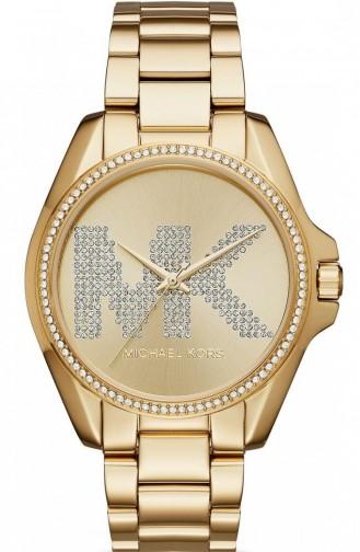 Gold Colour Horloge 6555
