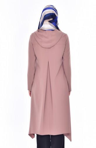 شوكران كاب بتصميم موصول بقبعة 35827-01 لون عسلي فاتح 35827-01
