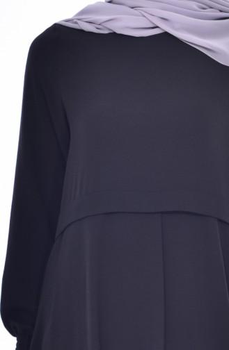 BWEST Sleeve Elastic Tunic 8135-06 Black 8135-06