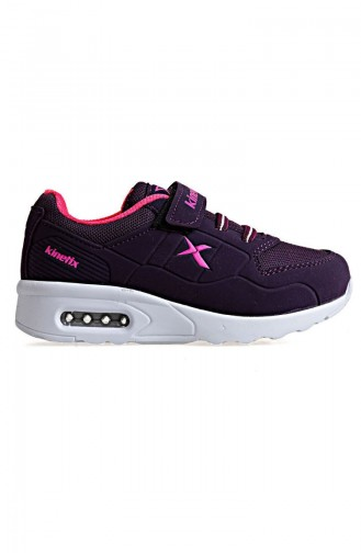 Kinetix 8P Bırno Kids Sport Shoes100299573 Purple Neon Pink 100299573