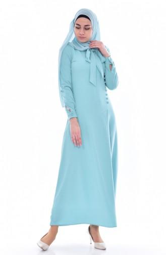 Mint green Dress 4417-12