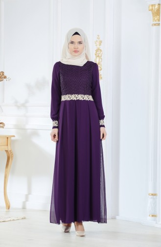 Dark Purple Dress 51983-23