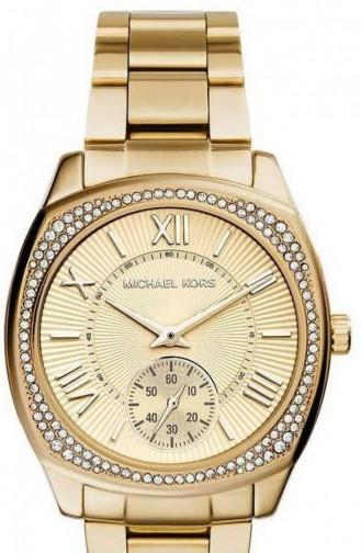 Gold Horloge 6134