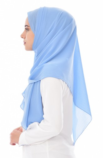 Plain Shawl 70069-03 Blue 03